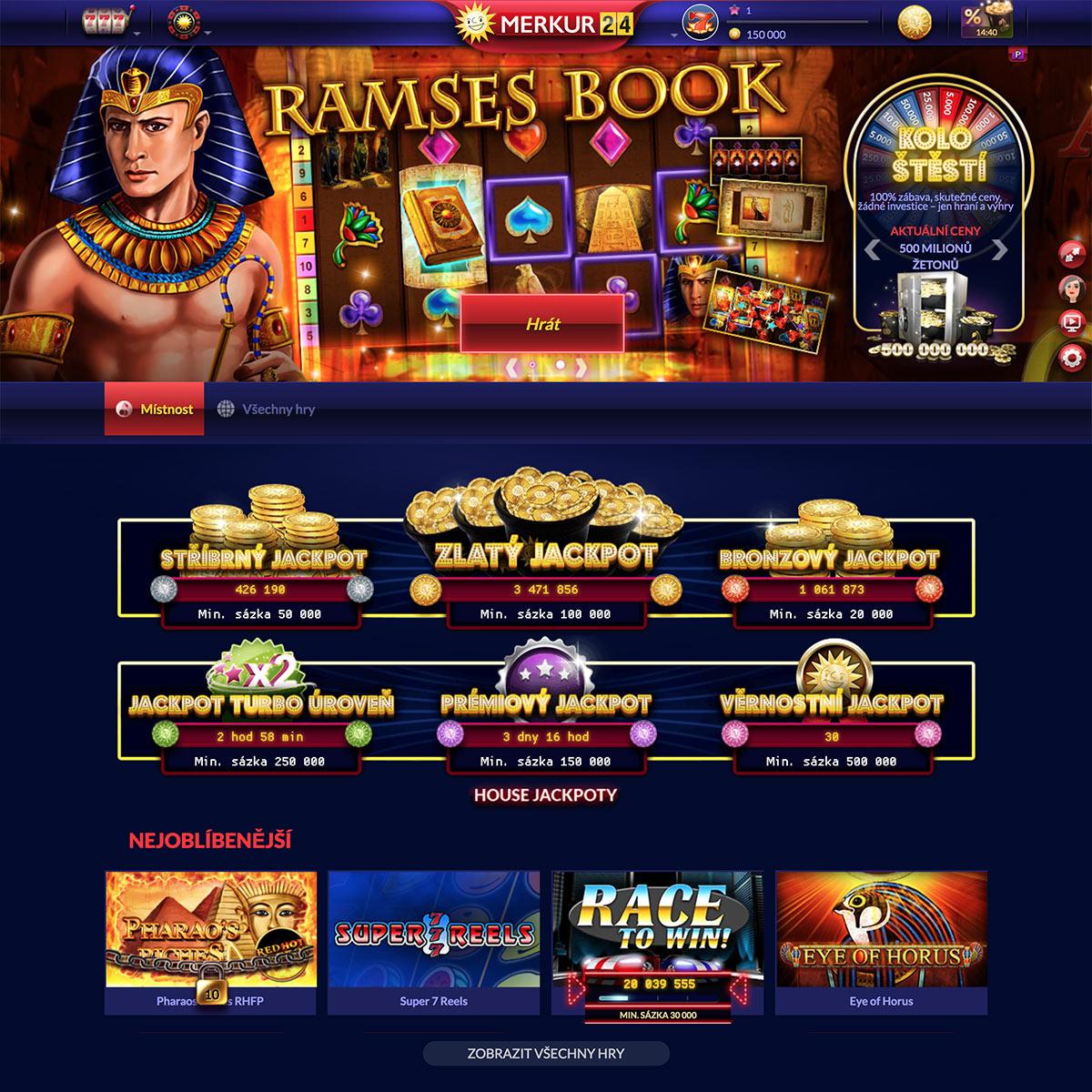 """Pojďte si vyzkoušet online hru jako v pravém kasínu. Každý, koho kdy lákalo podívat se do pravého kasína, teď česká """"exkurze"""" po nejznámějších a nejoblíbenějších hrách."""