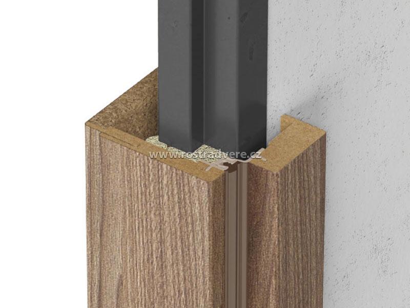 Obklady kovových zárubní (OKZ) dají vašim ocelový futrům novou krásu.