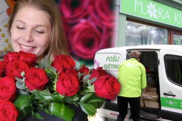 Rozvoz květin do každého města i obce: to je Flora-online.