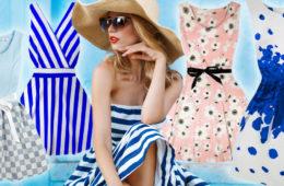 Letní šaty 2018: trendy, se kterými okouzlíte i v tropických vedrech.