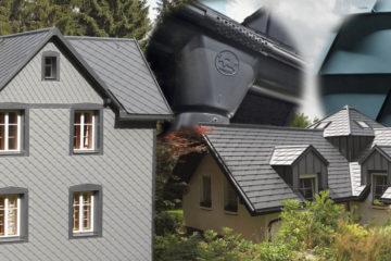 Trendy pro střechy 2018: hliník, jednoduché linie a propojení s fasádou