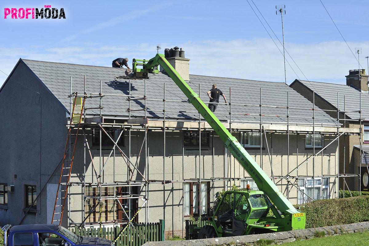 Staví se od základu, rekonstruuje od střechy. Pro moderní vzhled domu je však střecha obvykle tím nejdůležitějším prvkem