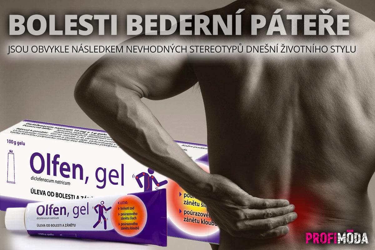 Trápí vás bolest bederní páteře? Od bolesti uleví hydrofilní Often gel.