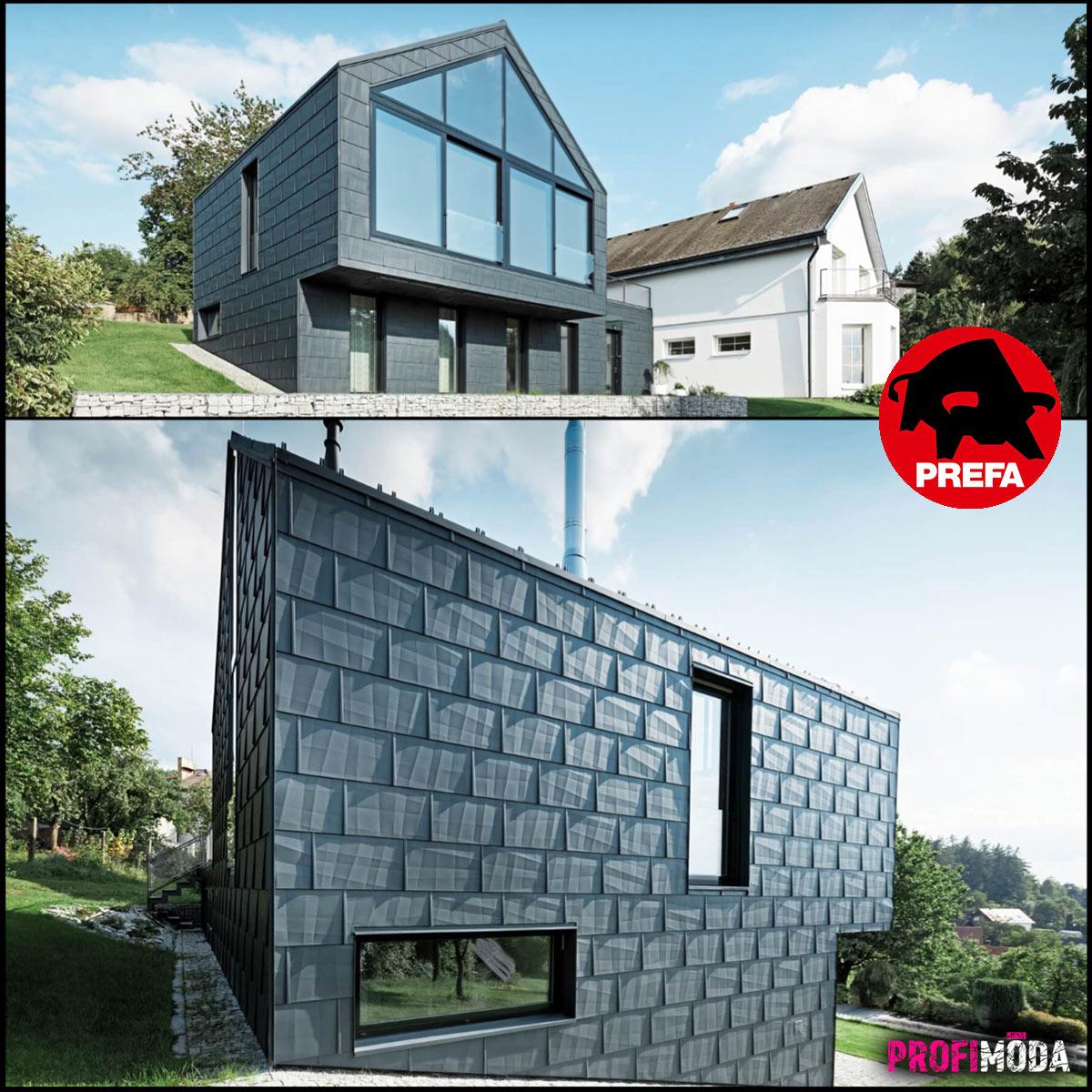Architekti hliník milují. Trendy pro střechy jsou jasné: jednoduché linie a propojení s fasádou.