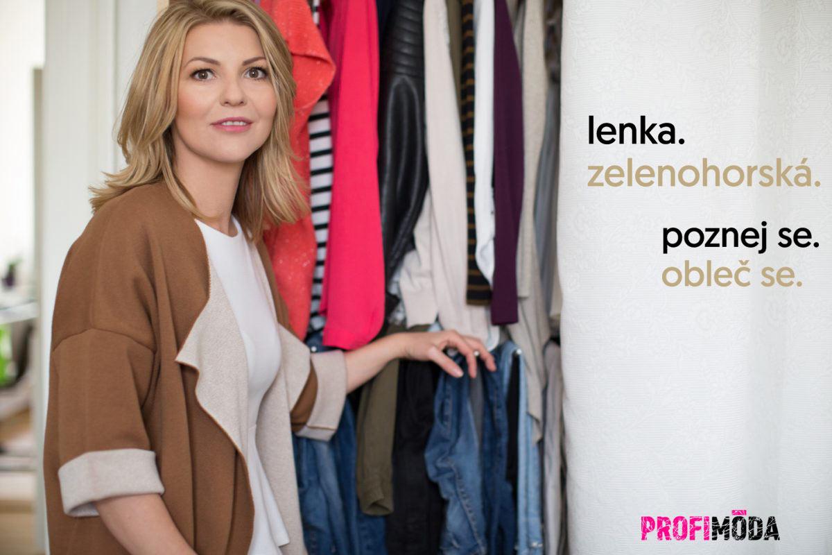 Módní stylistka Lenka Zelenohorská.
