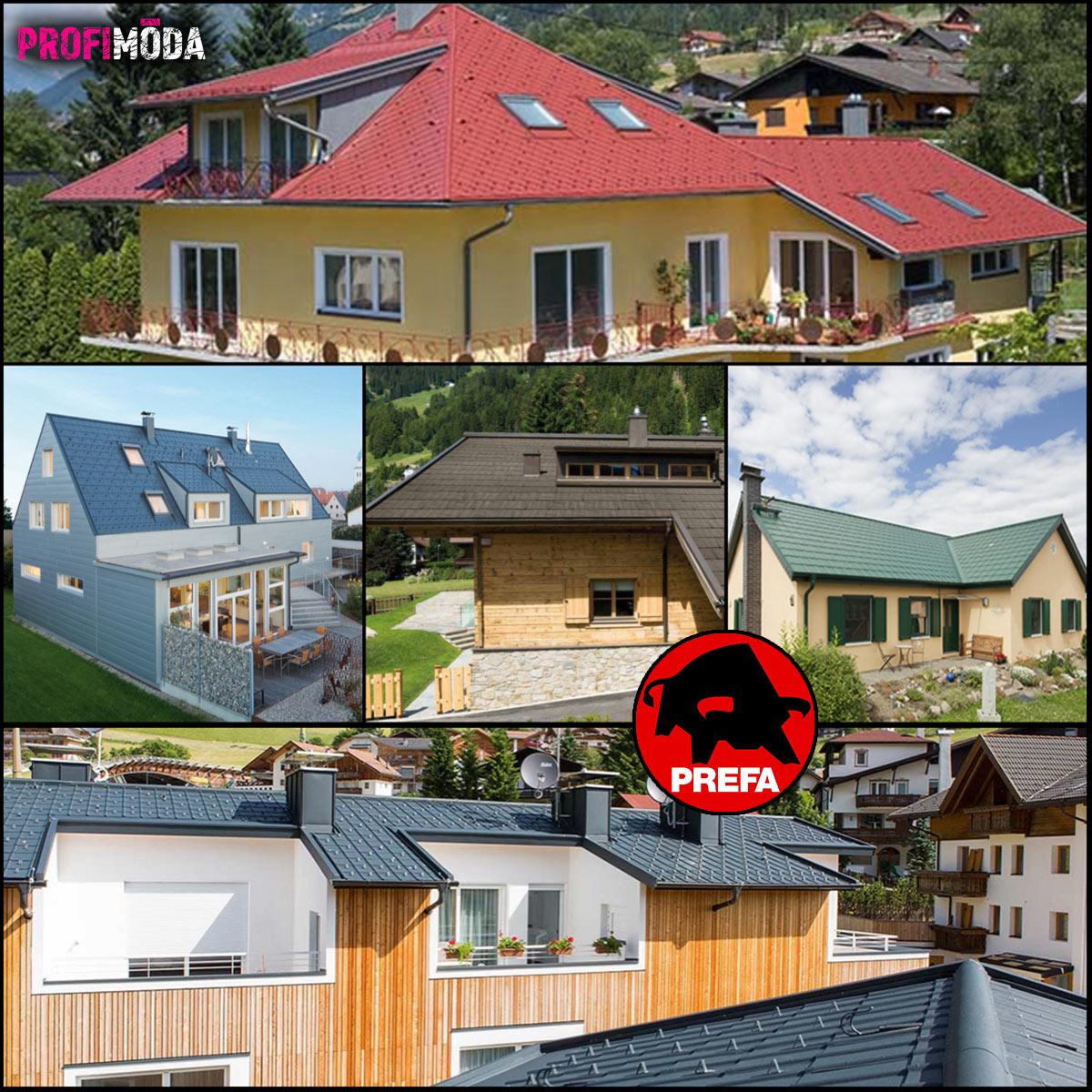 Neexistuje správná odpověď na otázku, jaká je nejlepší barva pro střechu. Proto se nebojte trochu odvázat – i když s úctou k okolí.