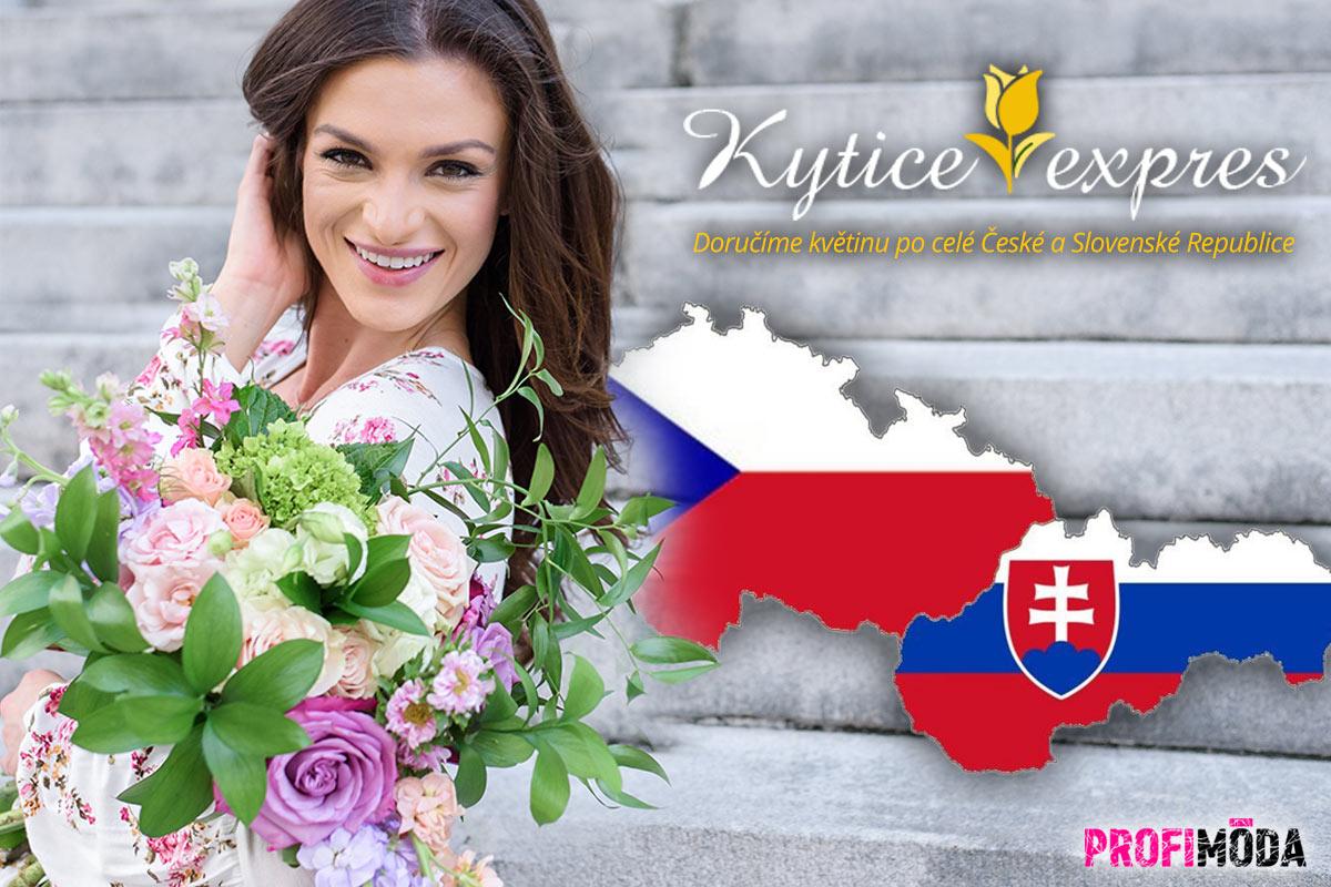 Pošlete, díky možnosti objednat květiny online, komukoliv do Česka a na Slovensko nádherný dárek –kytici květin.