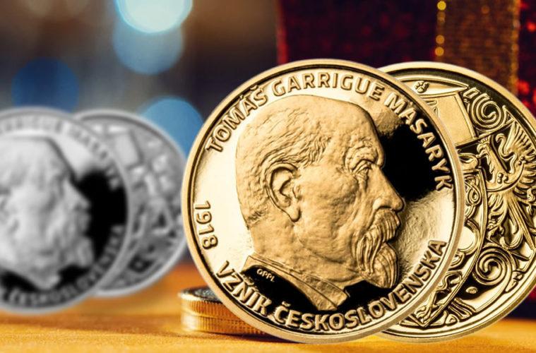 Numismatici i milovníci historie, zbystřete. Pražská mincovna vydala ke 100. výročí vzniku ČSR unikátní zlatý Masarykův dukát. Už víte, komu jej darujete třeba jako vánoční dárek?