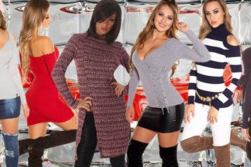Trendy pro podzim a zimu 2018/2019 fandí pletené módě. Pletené šaty, dlouhé i krátké pulovry pikantních střihů i rafinované roláky – to vše se nosí.