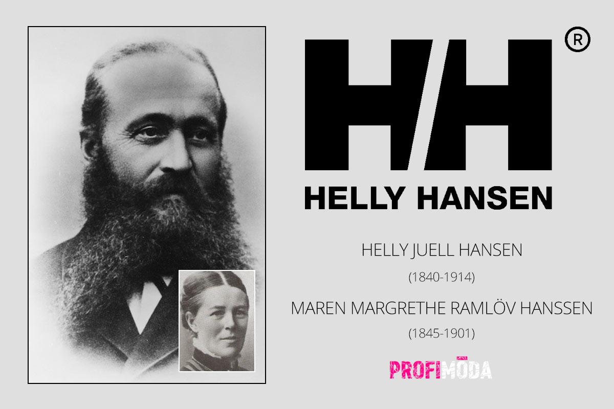 Zakladatelé značky Helly Hansen.