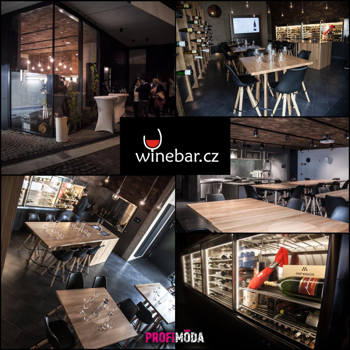 Winebar najdete v novém luxusním obytném komplexu U Michelského Mlýna 1 na Praze 4.