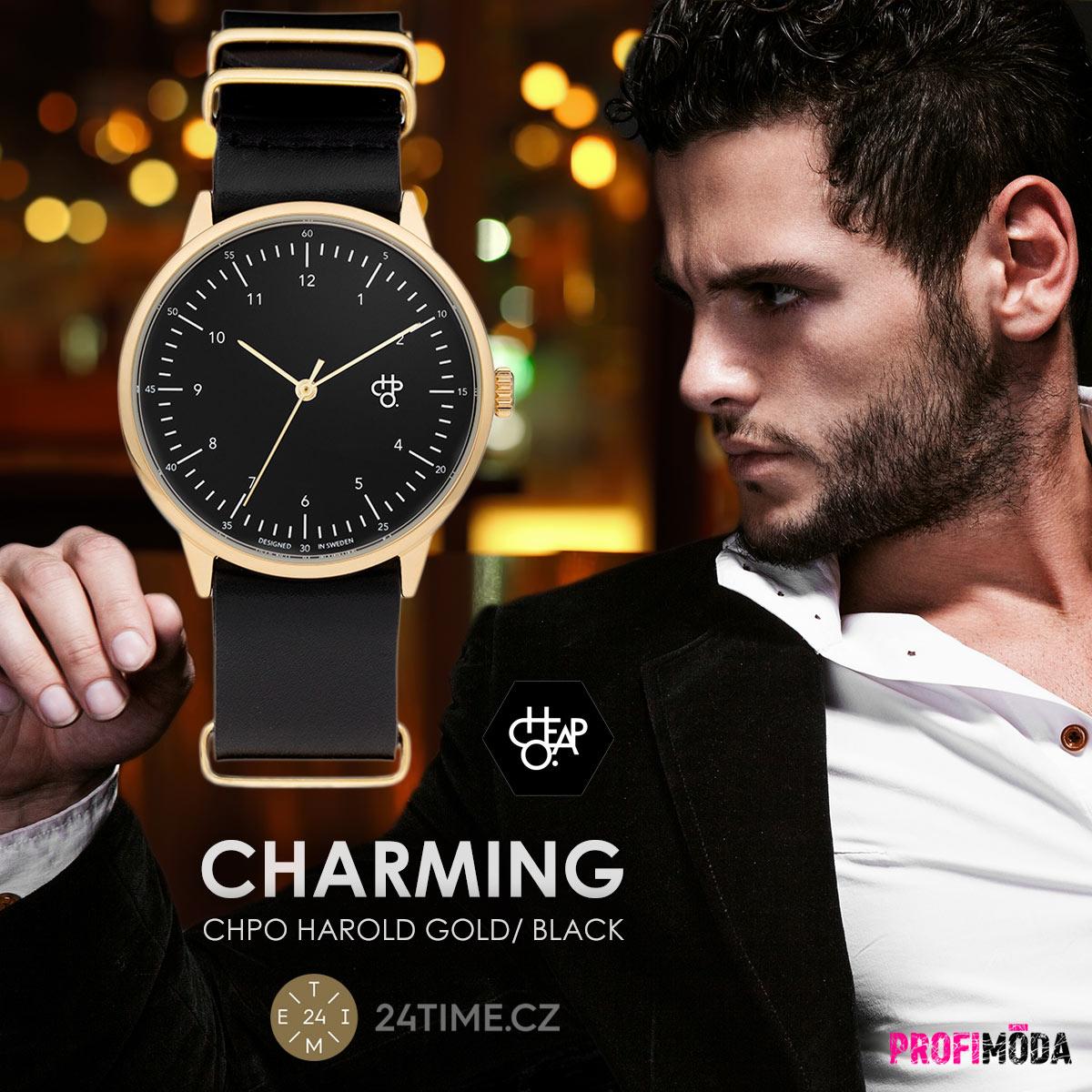Šarmantní design – to rozhodně není vše, co švédská značka hodinek CHPO nabízí. Dává nám možnost dát najevo svůj životní postoj.