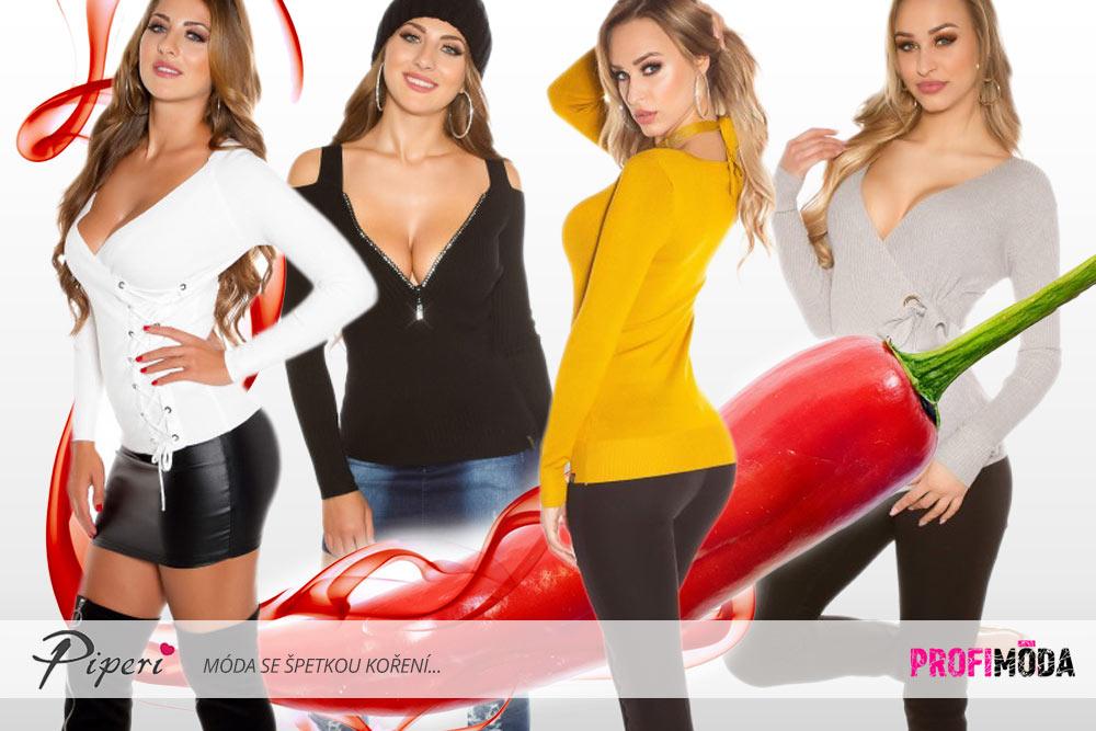 Pletené šaty a pikantní pletená móda – to jsou hřejivé trendy pro ... 9e5b33783f