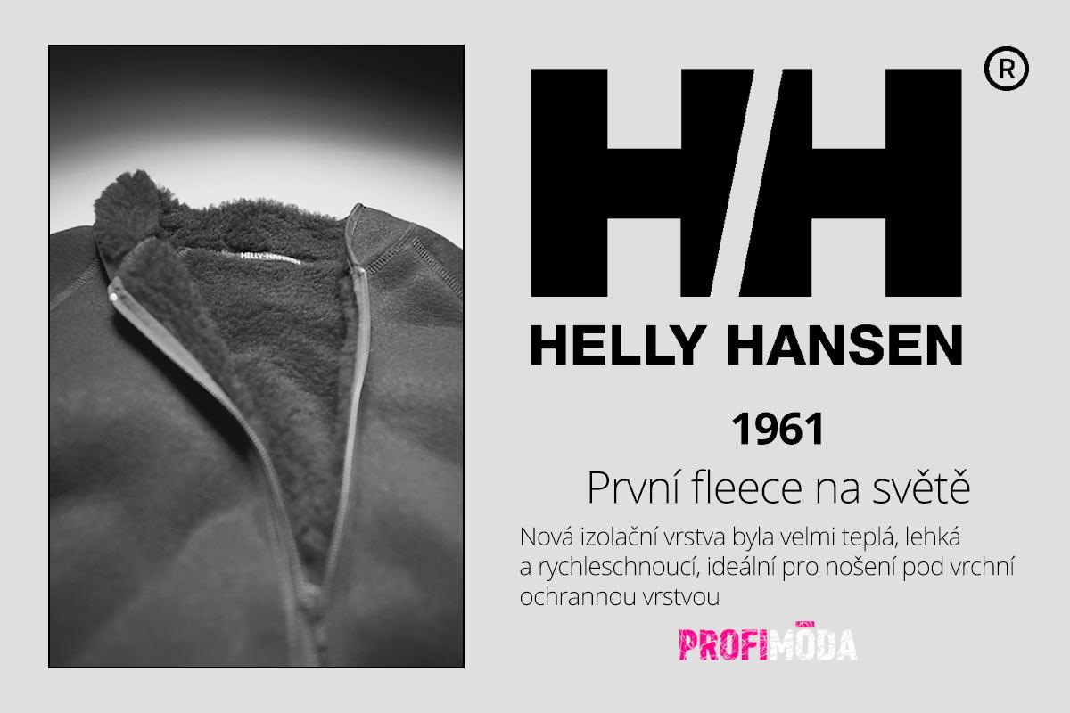 Milujete hřejivý fleece? A víte, že na počátku jeho vzniku byla opět značka Helly Hansen?