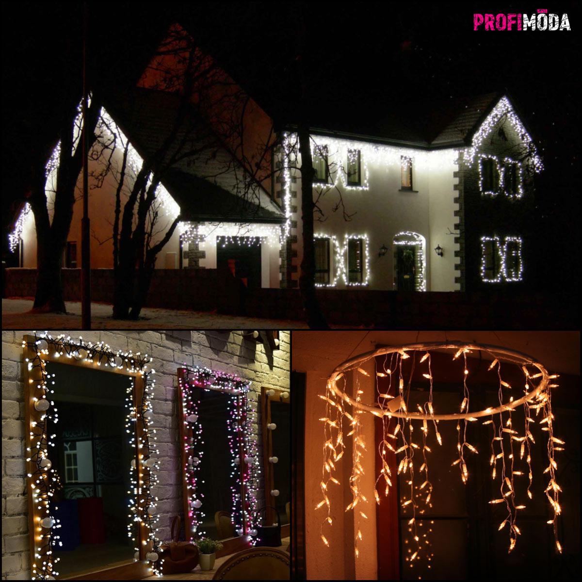 K vánočním svátkům už i u nás patří krásně osvětlené domy nebo jiné exteriérové svítící dekorace.