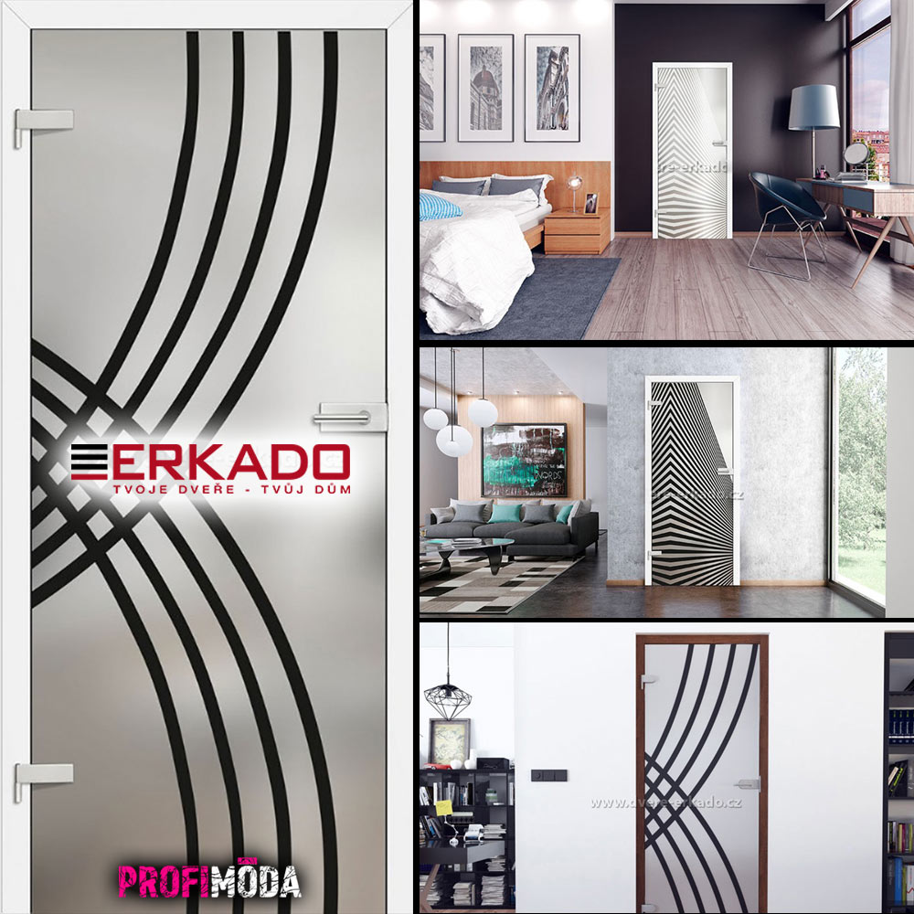 Celoskleněné dveře GRAF se hodí jako dveře do koupelny. Lze je opatřit obložkovou zárubní ve stejné barvě a dezénu, v jakém je zbytek interiérových dveří. Jsou z bezpečnostního tvrzeného skla.