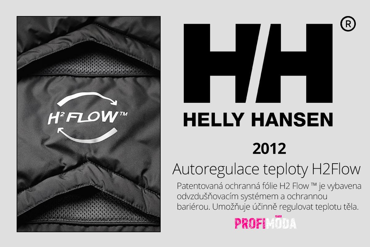 """Nepromokavé materiály značka Helly Hansen časem transformovala v kvalitní membránové textilie, které """"umí dýchat""""."""