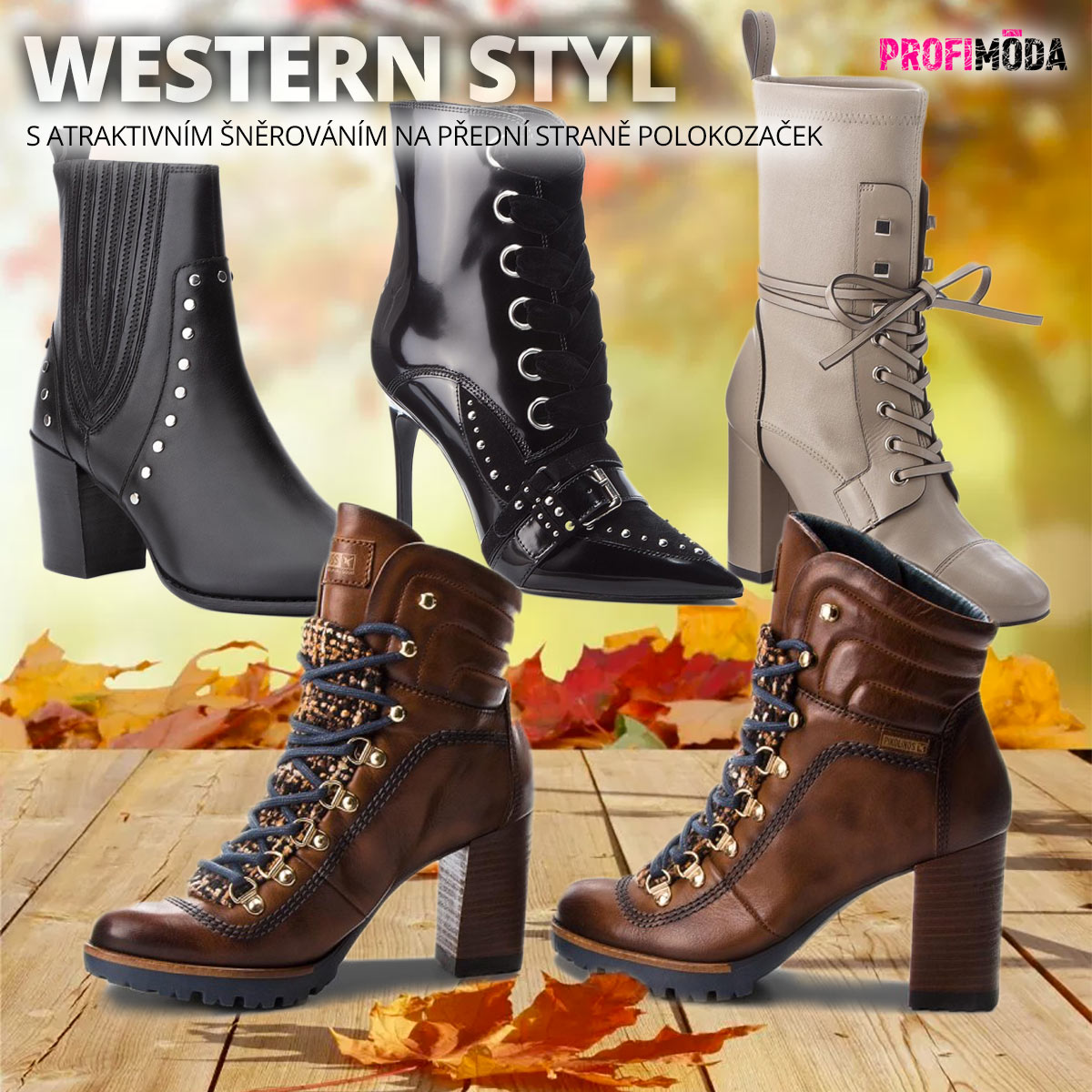 A opět je tady špetka western stylu. Tentokrát však kovbojský styl předčila móda frivolních dam Divokého západu.
