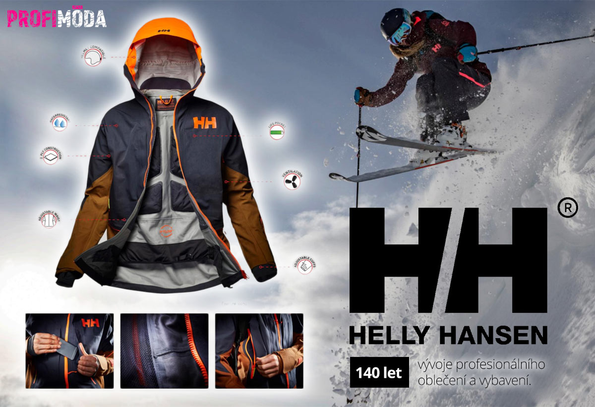 Historie značky Helly Hansen se začala psát již před před 140 lety – v roce 1877 v Norsku.