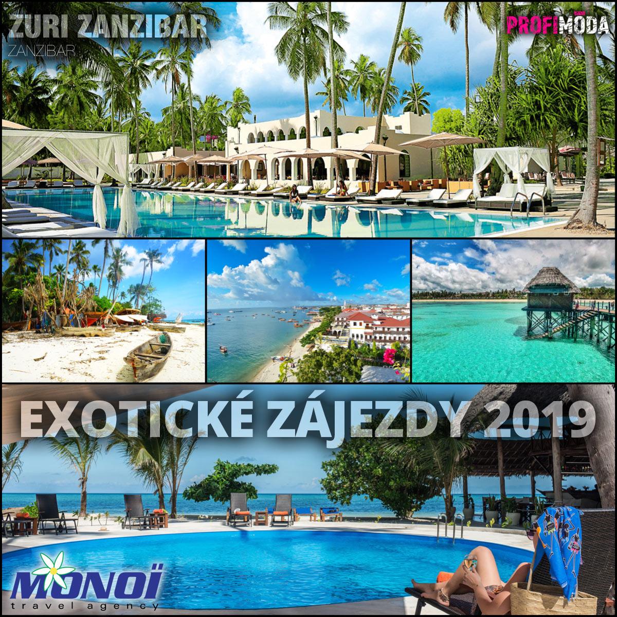 Monoï – to je exotická dovolená na míru. Třeba právě na Zanzibaru.