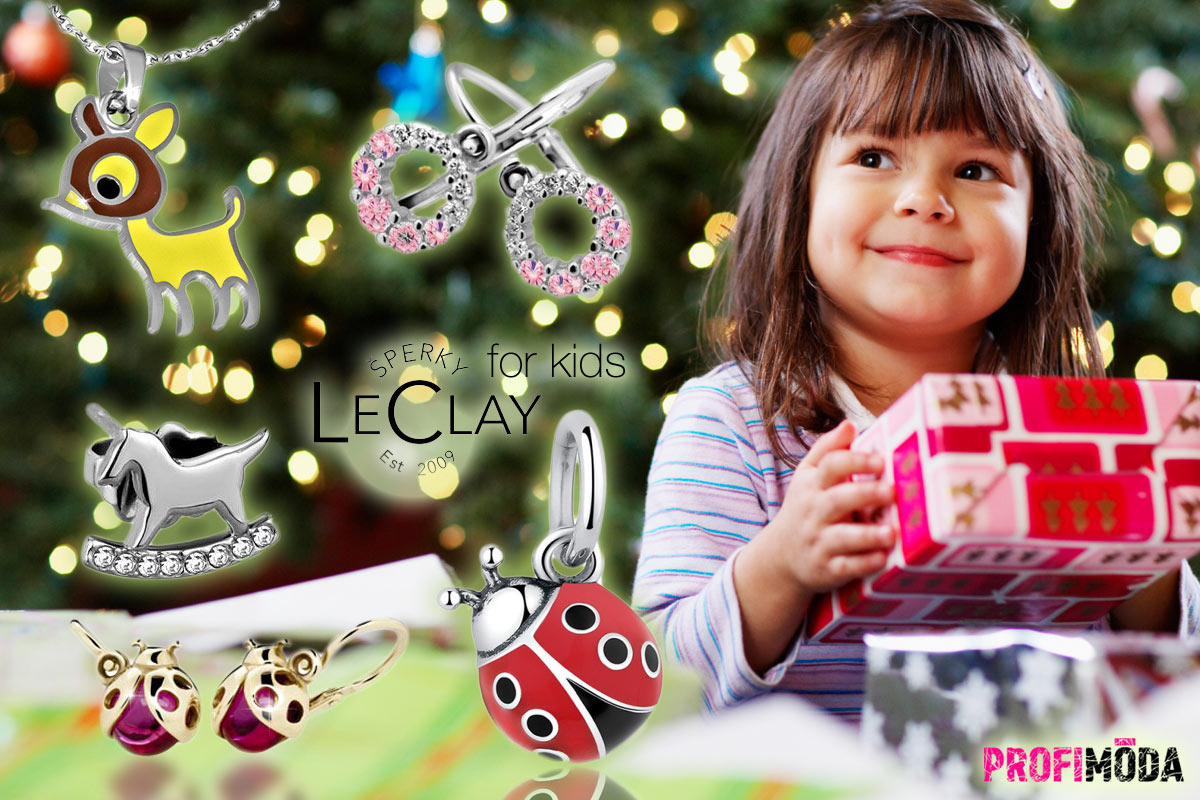 Dětské šperky z nerezové chirurgické oceli. Koupíte je v e-shopu Šperky LeClay.
