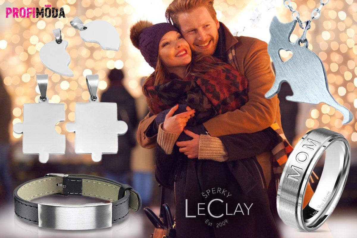 Věnujte letos šperk s přáním. Vygravírují vám jej přímo v Šperky LeClay.