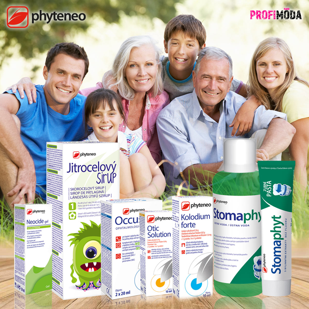 Svět zdraví v přírodních molekulách – to jsou moderní fytofarmaka Phyteneo.