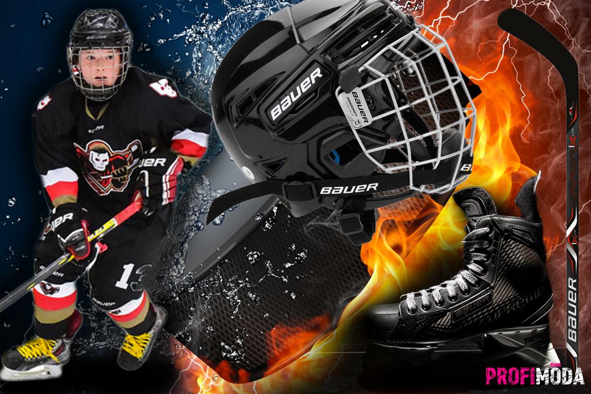 Mnohdy je to právě kvalitní hokejová výstroj, která podnítí děti k většímu zájmu o tento sport. Sáhněte po výstroji Bauer.