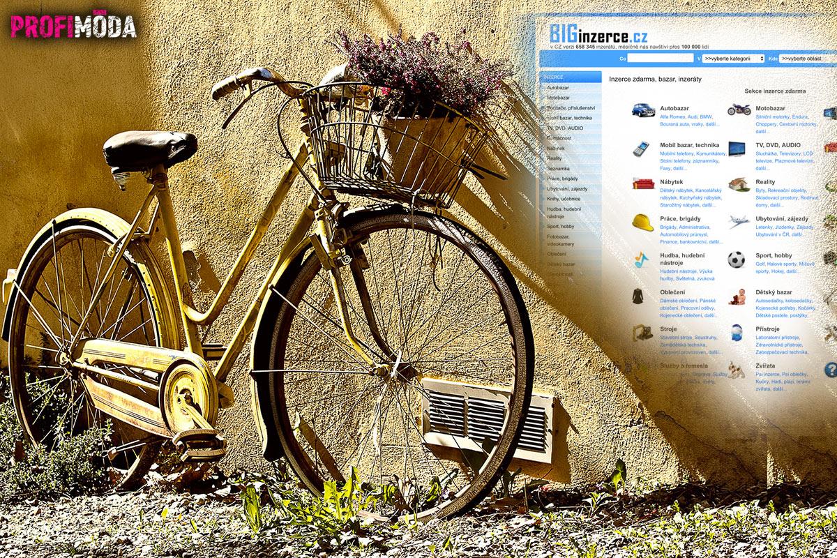 Staré kolo –vám už třeba není k ničemu, ale jiné uhrane svojí historickou či dekorační hodnotou.