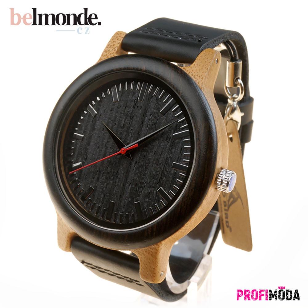 Pánské dřevěné hodinky Yves.