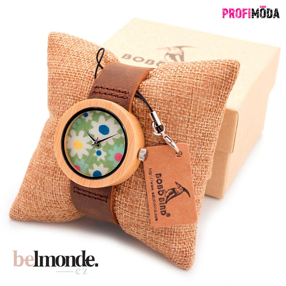 Dámské dřevěné hodinky Florence.