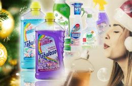 Dvojí kvalita zboží neminula ani běžné úklidové prostředky. Zkuste letos o Vánocích uklidit s produkty v top italské kvalitě.