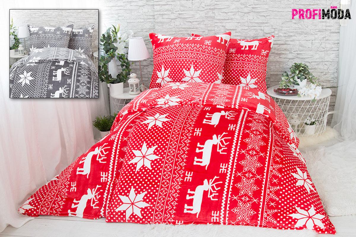 Vánoční povlečení: mikroplyš je ideální na zimu.