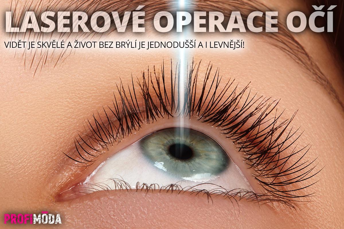 Operace dioptrických vad vás zbaví brýlí.