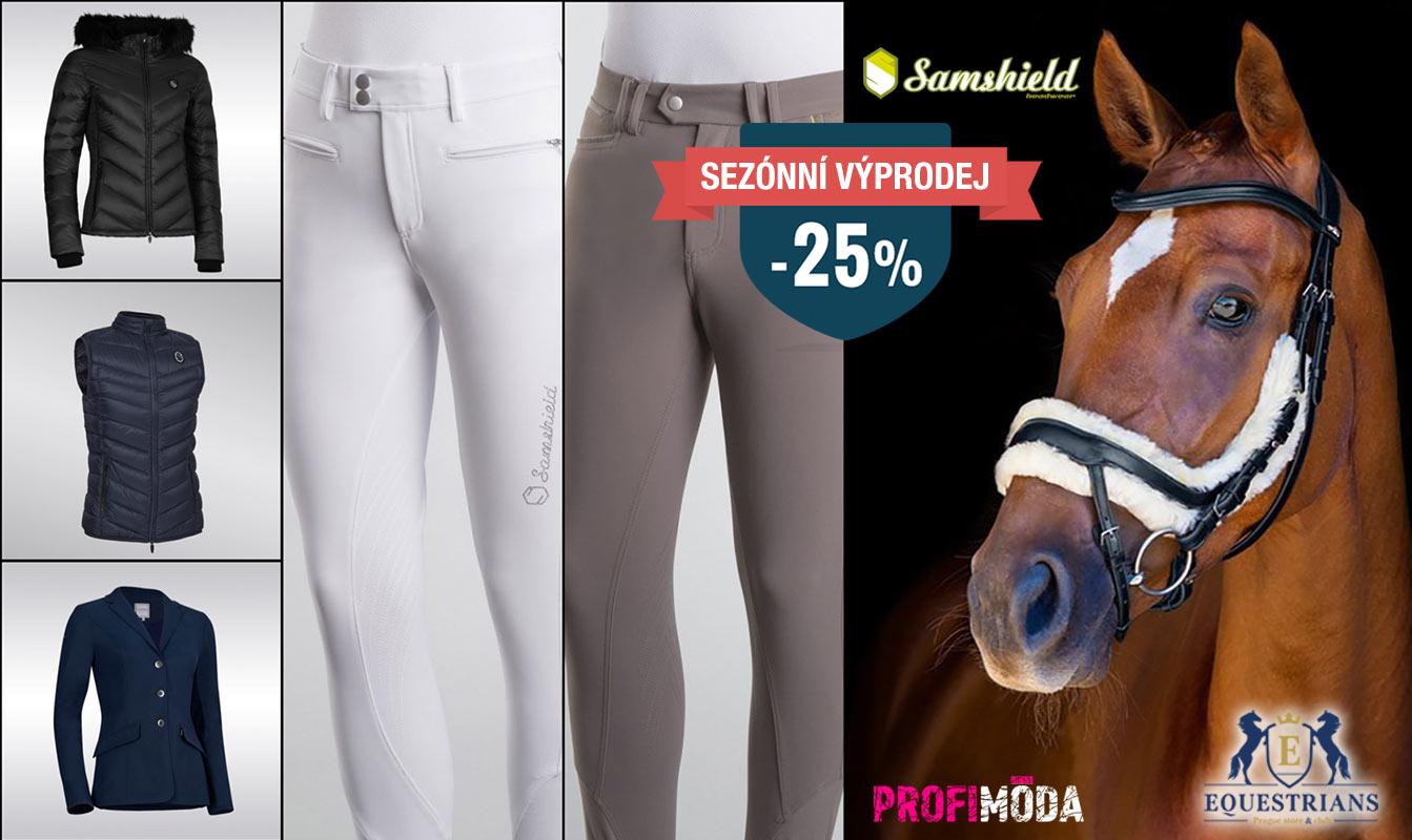 Luxusní jezdecké oděvy Samshield.