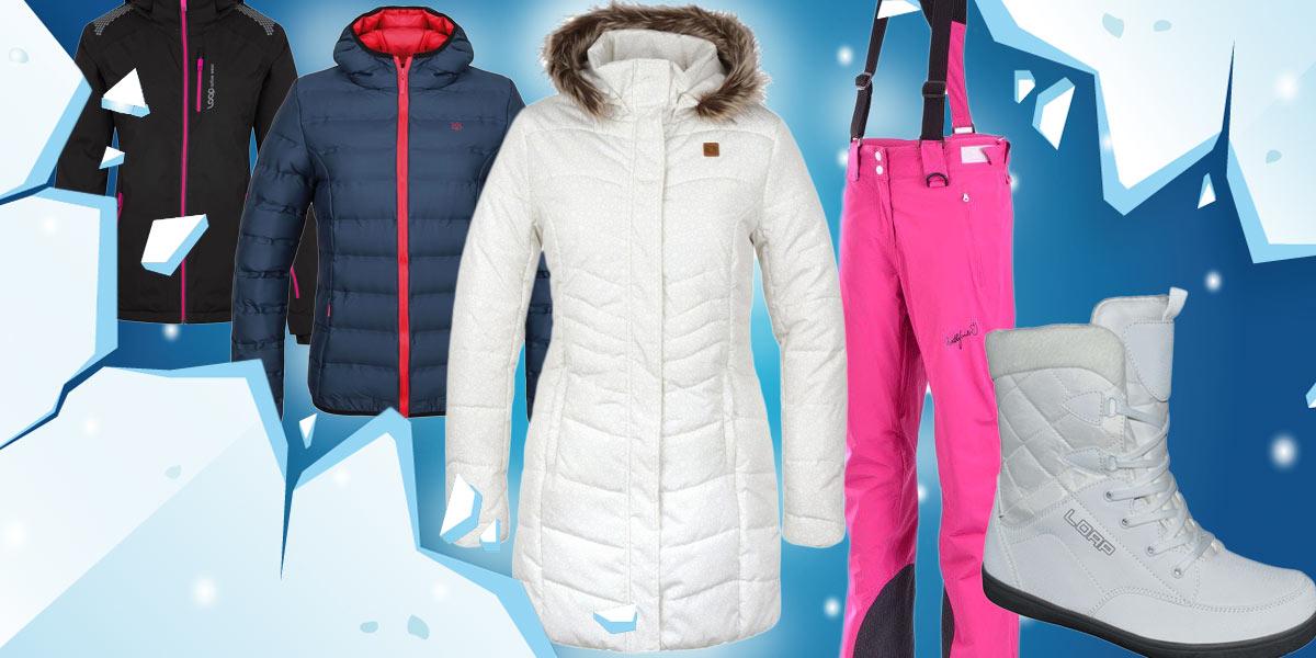 Dámské i pánské zimní bundy, ale i další lyžařské či zimní oblečení a obuv, teď pořídíte se slevou.