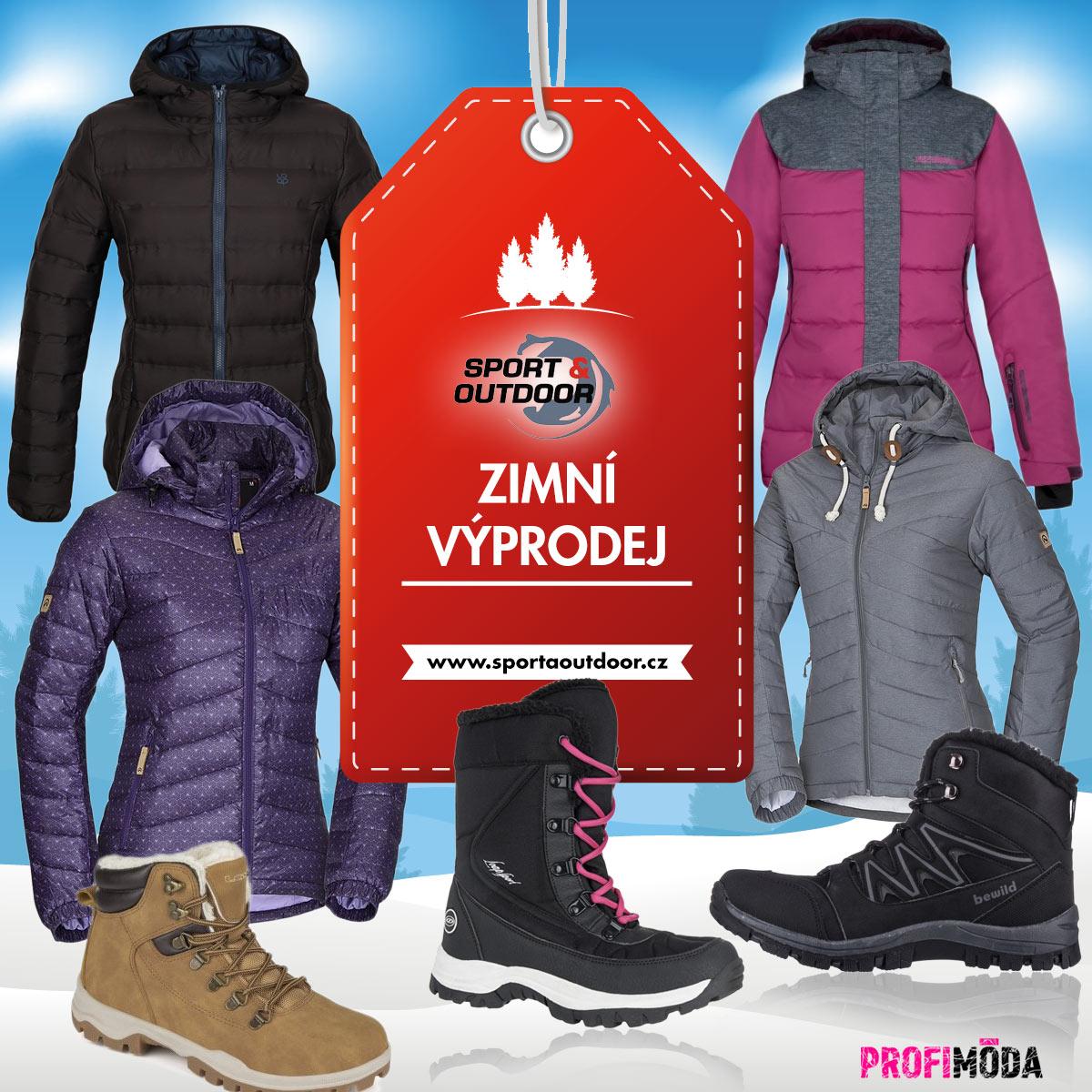 Zimní bundy: výprodej je tady! Stejně tak jako slevy na boty a další oblečení.