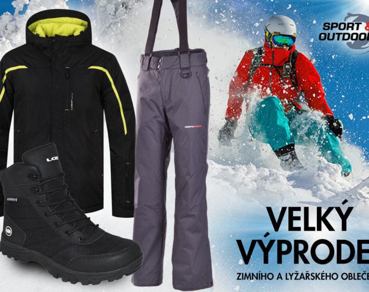 Zimní bundy výprodej – oblečete se na zimu i na lyže s předstihem a levněji.
