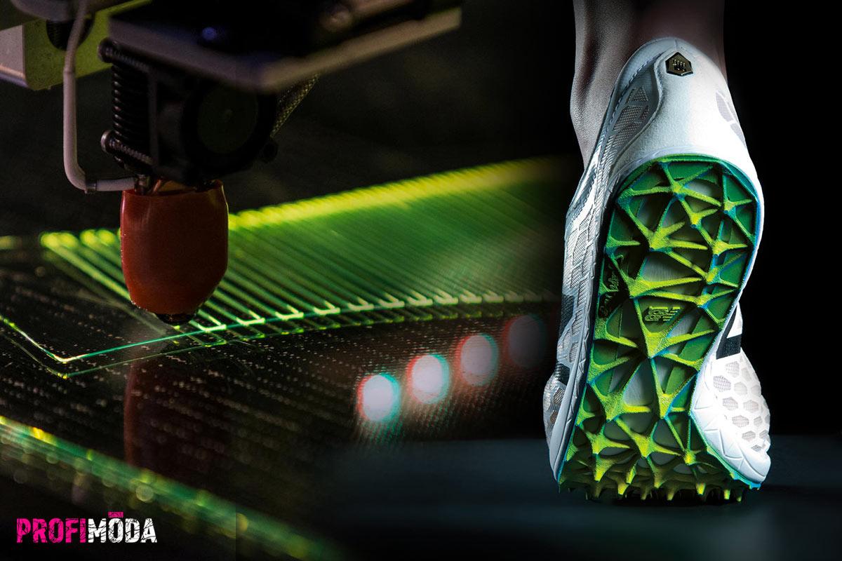Designéři a výrobci obuvi nacházejí v 3D tisku zcela nové možnosti.