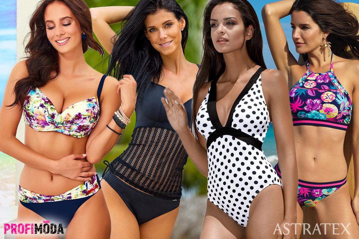 Plavky Astratex 2019 – to jsou skutečně vydařené modely plavek i pro ženy, které potřebují řešit velikost plavek stejně, jako standardní velikost podprsenky.