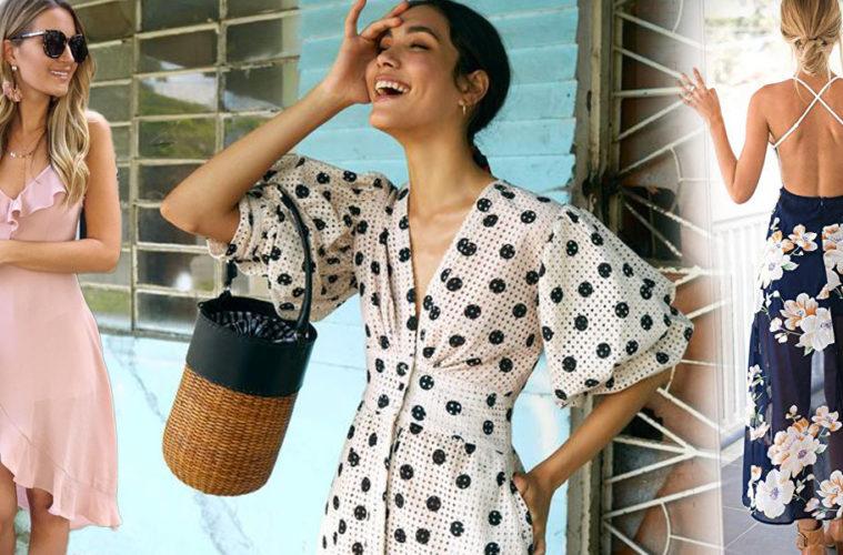 Léto je ideálním obdobím pro módní experimenty. Chcete, aby byl i váš letní šatník veselý, hravý, divoký či rozmarný? Prohlédněte si naše tipy na letní šaty a vyberte si pro sebe ty pravé.