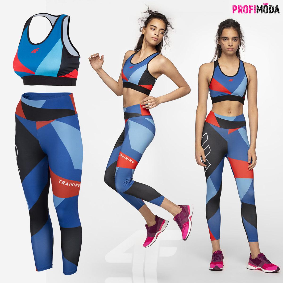 Sportovní oblečení pro ženy 4F: to je styl a funkční vlastnosti v jednom.