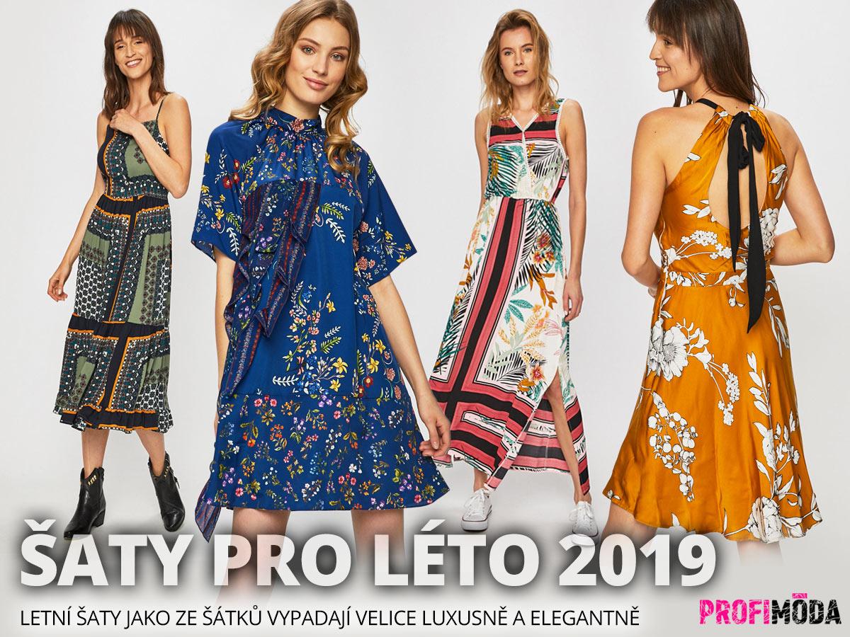 Šaty pro léto 2019: Šátkové šaty koupíte na Answear.