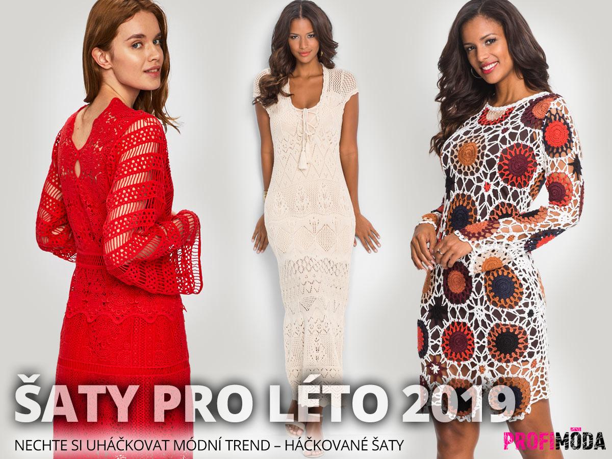 Háčkované šaty: Šaty z háčkované nebo pletené krajky koupíte na Answear a Bonprix.