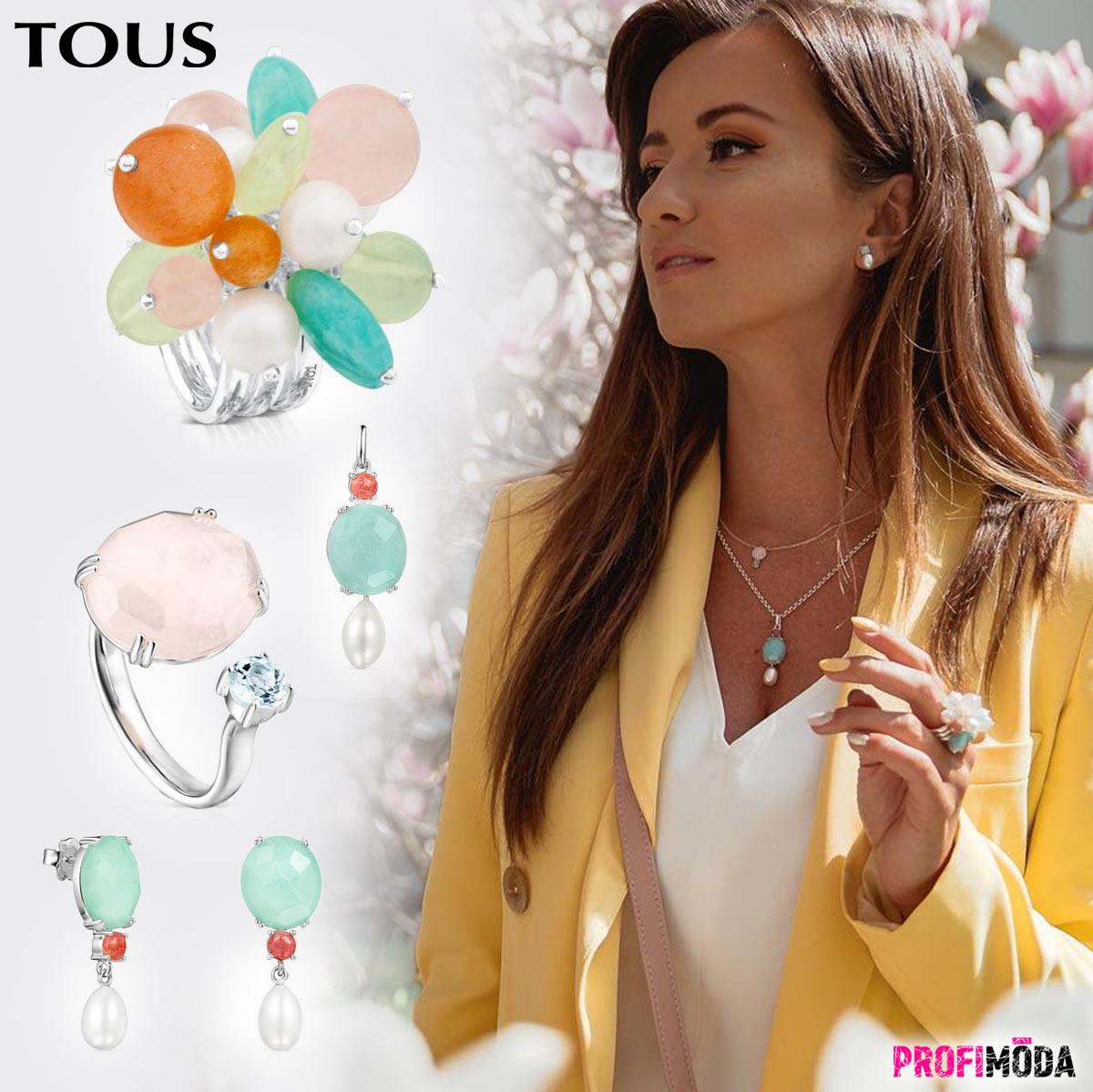 Šperky Tous jsou ženské a mladistvé současně. Žádné jiné do své šperkovnice nepotřebujete.