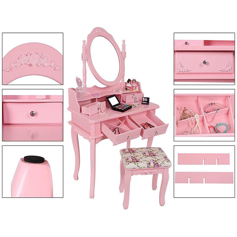 Jsme romantické duše. Tak proč si nedopřát třeba růžovou toaletku?