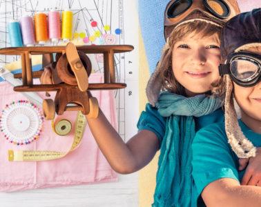 Šicí stroj neodmyslitelně patří do každé rodiny s dětmi. Moderní šicí stroje Brothers umožňují šití běžných i pružných tkanin, a umí rovněž kreativně tvořit. Co šijeme dětem na podzim a v zimě? Podívejte se na naše tipy pro podzim a zimu 2019/2020.