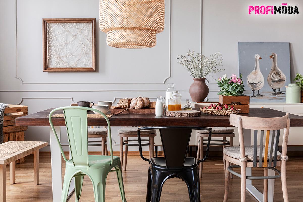 Milujete eklektický styl? Nákup nábytku přes internet i nákup bytových doplňků vám dává možnost se realizovat. Nezavrhujte ale ani klasické a nové kousky. Byt jako vetešnictví vás nebude bavit příliš dlouho.