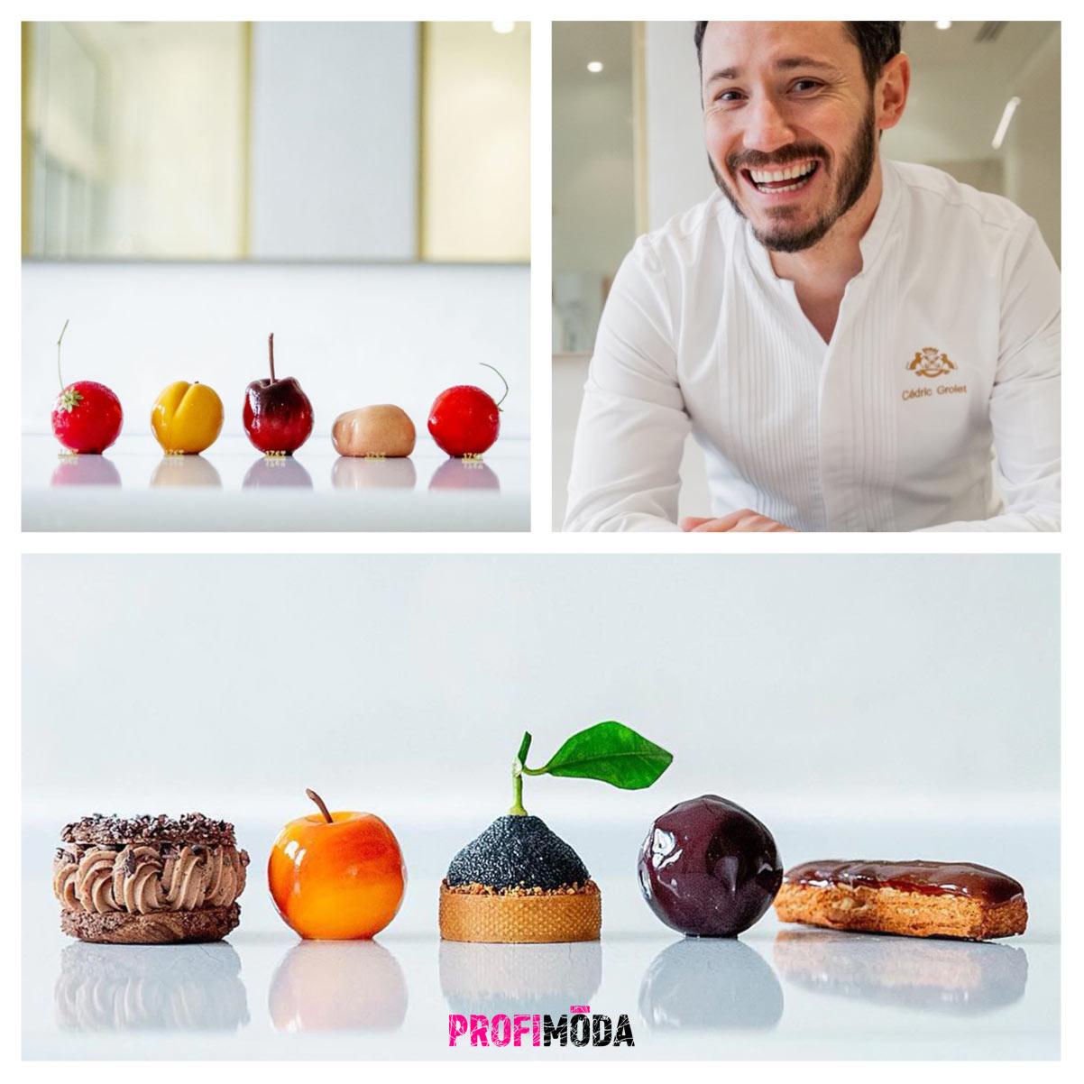 Cédric Grolet je umělec s kuchařskou čepicí. Jeho jablíčka, hruštičky a další ovoce miluje celý svět.