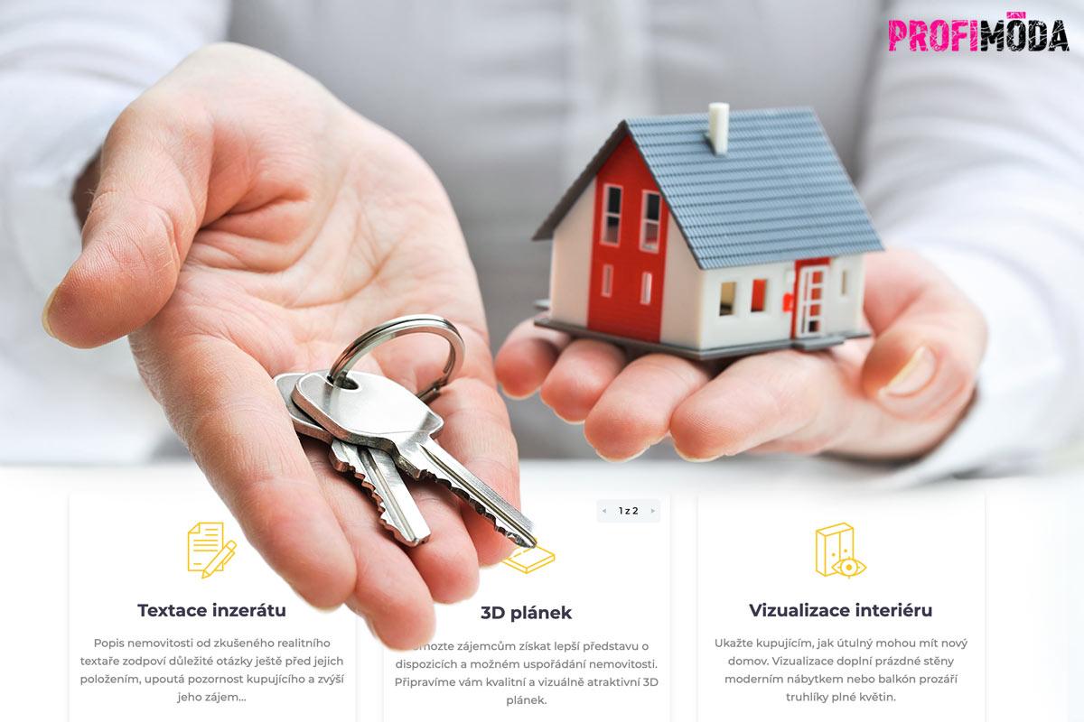 Prodáváte nebo pronajímáte nemovitost? Nechte si s tím pomoci realitním portálem CinCink.